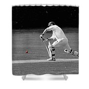 The Batsman Shower Curtain