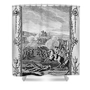 The Battle Of Culloden Shower Curtain