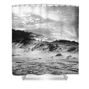 The Beach At Bridgehampton Shower Curtain