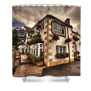 The Bear Inn  Shower Curtain