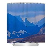 The Bear's Tooth Shower Curtain