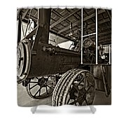 The Beast Sepia Shower Curtain