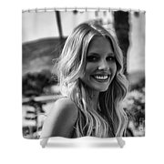 The Beautiful Blonde Shower Curtain