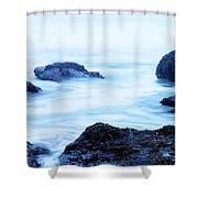 The Beautiful Brine Unsettled Shower Curtain