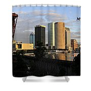 The Beautiful City Shower Curtain