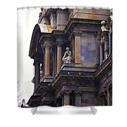 The Beauty Of Philadelphia City Hall Shower Curtain by Bill Cannon