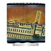The Belle Of San Francisco Shower Curtain