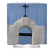 The Bellfry Arch Shower Curtain