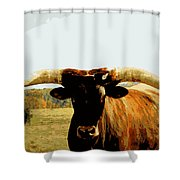 The Big Guy Shower Curtain