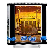 The Big Rigs Group Pic Shower Curtain