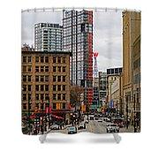 The Big W Shower Curtain