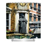 The Black Friar Pub In London Shower Curtain
