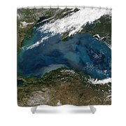 The Black Sea In Eastern Russia Shower Curtain