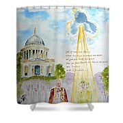 The Blessed Queen Shower Curtain