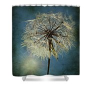 The Blowing Sun Shower Curtain