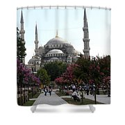 The Blue Mosque  - Istanbul Shower Curtain
