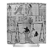 The Book Of The Dead Shower Curtain