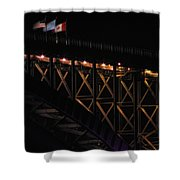 The Border Shower Curtain
