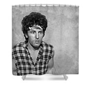 The Boss Bw Shower Curtain