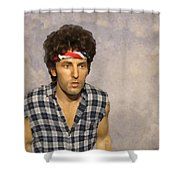 The Boss Shower Curtain by David Dehner