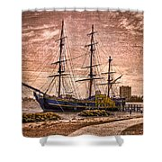 The Bounty Shower Curtain by Debra and Dave Vanderlaan