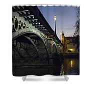The Bridge Of Triana, Puente De Triana Shower Curtain