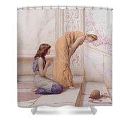 The Broken Pot Shower Curtain