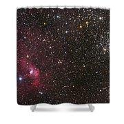 The Bubble Nebula Shower Curtain