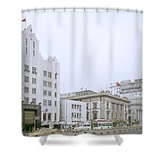 The Bund In Shanghai In China Shower Curtain