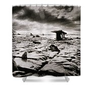 The Burren Shower Curtain