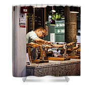 The Butcher Shower Curtain
