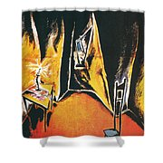 The Cabinet Of Dr Caligari Shower Curtain