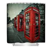 The Call Of Yesteryear Shower Curtain