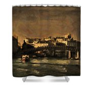 The Canal Venice Shower Curtain
