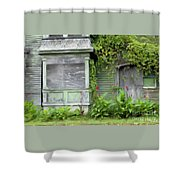 The Canna Farm Shower Curtain