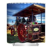 The Capp Family Case Engine 2 Shower Curtain
