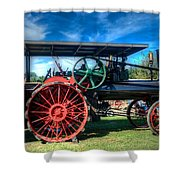 The Capp Family Case Engine Shower Curtain