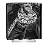 The Captain Knot Shower Curtain