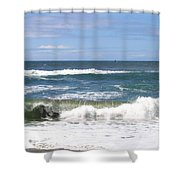 The Captivating Sea Shower Curtain