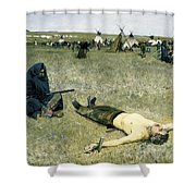 The Captive Shower Curtain