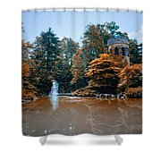 The Castle At Longwood Gardens Shower Curtain