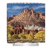 The Castle Shower Curtain