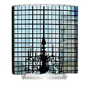 The Cathedral Chandelier  Shower Curtain