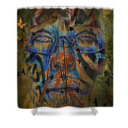 The Change Of Faces Shower Curtain