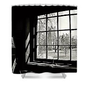The Chapel View Shower Curtain