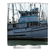 The Charlotte B Shower Curtain by Chalet Roome-Rigdon
