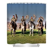 The Charros Shower Curtain