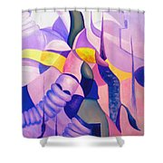 The Chase 3  Shower Curtain