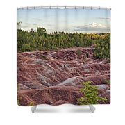 The Cheltenham Badlands Shower Curtain