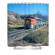 The Chief Train Shower Curtain